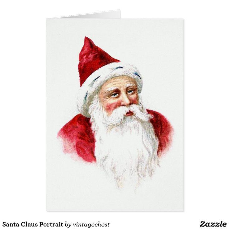 Santa Claus Portrait Card