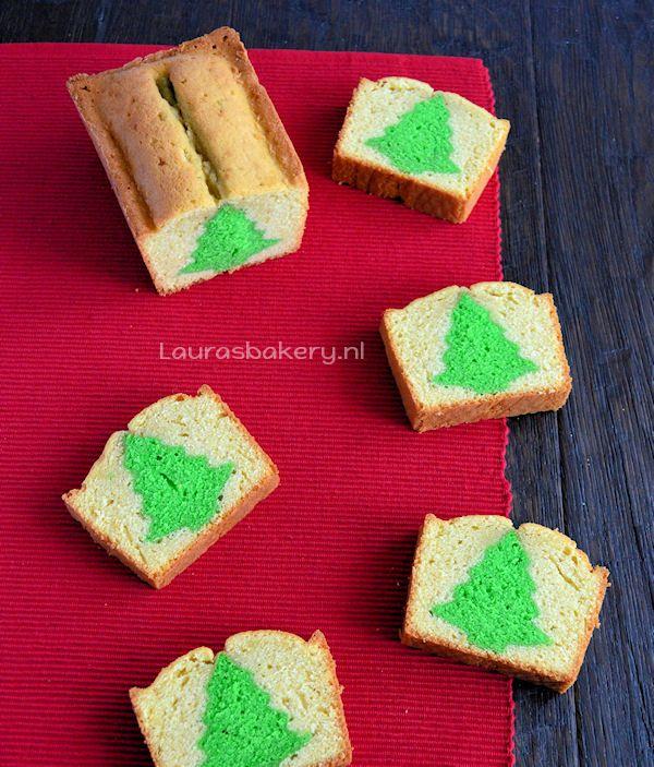 Advent 17: Kerstboom Cake - Laura's Bakery