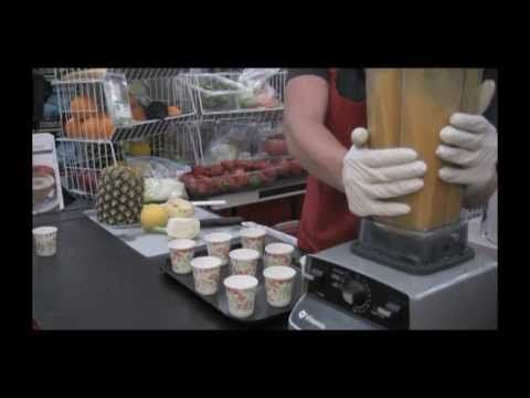 ▶ VitaMix Demo by April R. at Costco 1hr • get past the too long intro to some good recipes using the 6300 model • YouTube