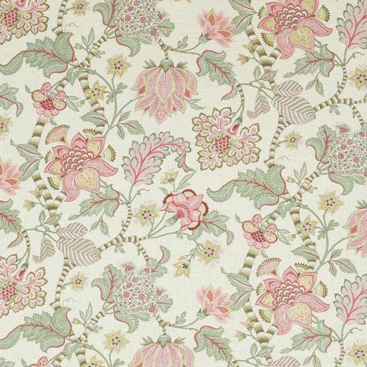 Warwick Fabrics : VILLANDRY Petal / from the Malmsbury Collection https://www.warwick.com.au/products/S5001MALM
