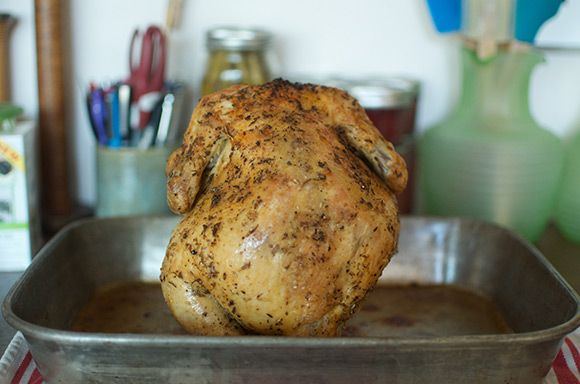 how to make a good whole chicken in the oven