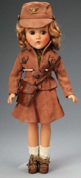 Madame Alexander WAC Doll.