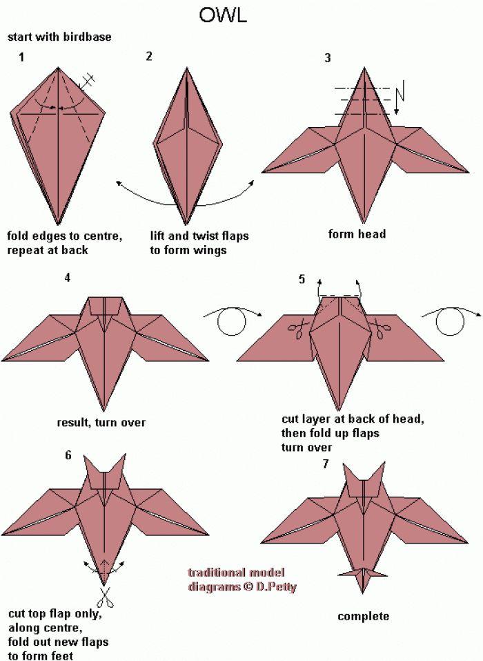 origami owl folding instructions