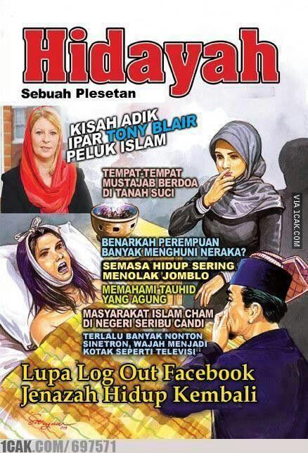 Meme Lucu Hidayah Gambar Bacanya Ngakak Thread Apresiasi Majalah Hidayah Gambar Cover 2238