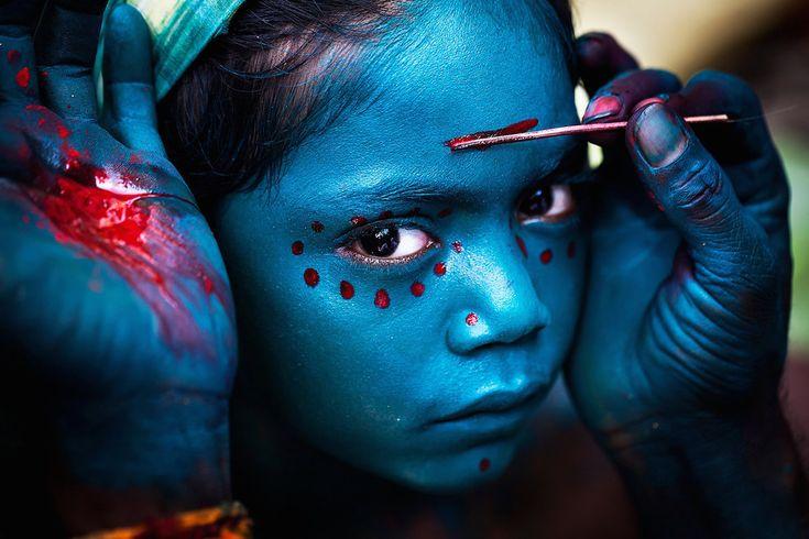 """Divine Makeover"", Kaveripattinam, Tamilnadu, India, by Mahesh Balasubramanian."