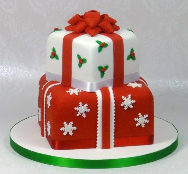 Stevenage United Kingdom  City new picture : Christmas Cake by Fancy Cakes by Linda, Stevenage, United Kingdom ...