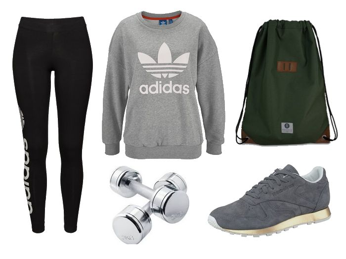 Fitness Outfit Adidas Blogger
