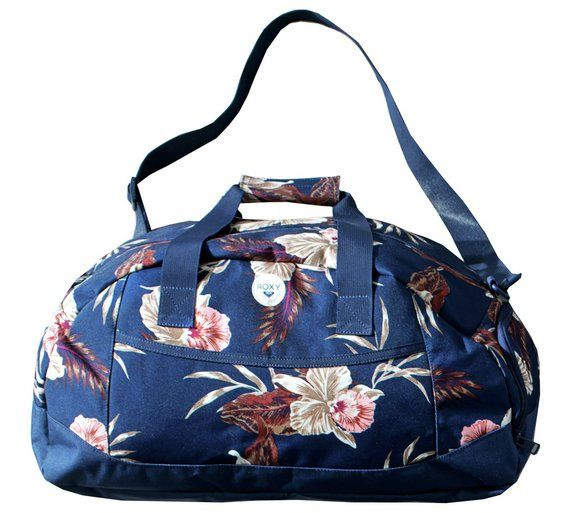 Buy Roxy Floral Holdall Bag - Small at Argos.co.uk, visit Argos.co.uk to shop online for Holdalls, Holdalls and Suitcases, Bags, luggage and travel, Sports and leisure