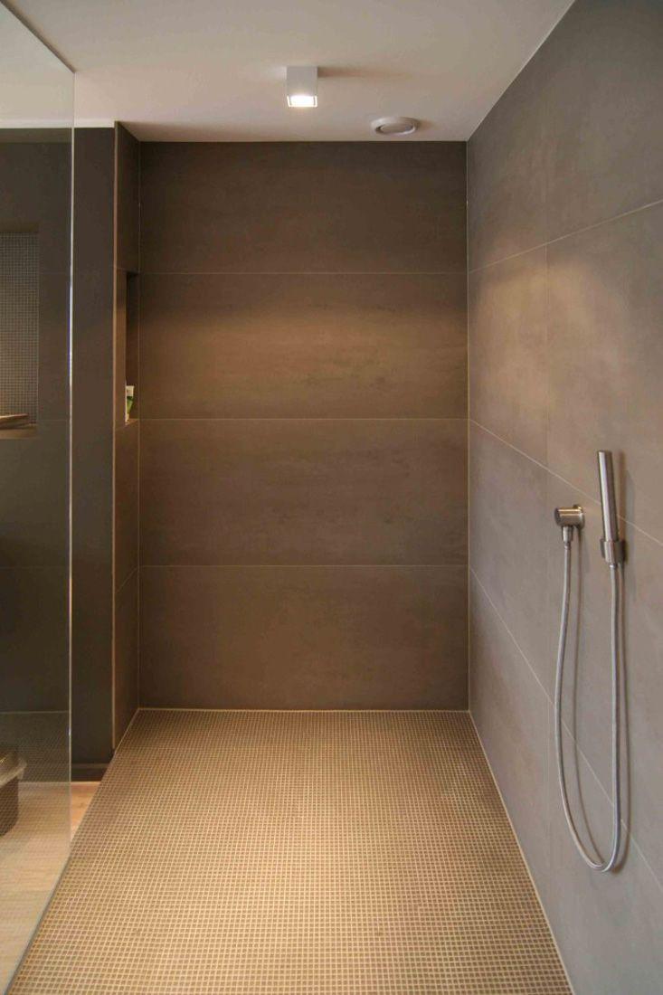 Bad Mit Fliesen Holzoptik   Großformatige Fliesen Und Mosaik | Badezimmer |  Pinterest
