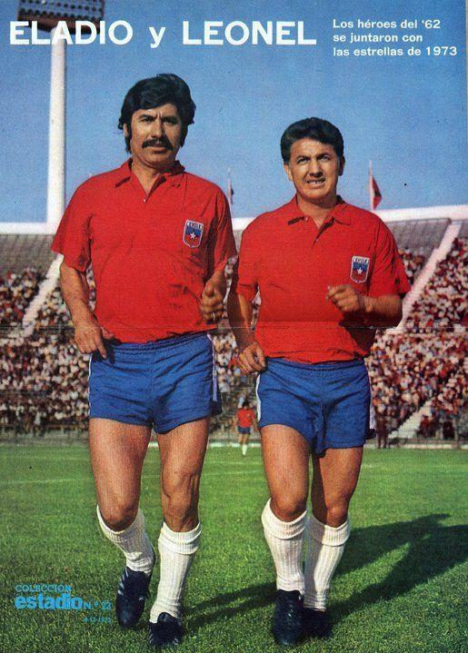 El partido con Santos se aprovechó para homenajear a Eladio Rojas y Leonel Sánchez.