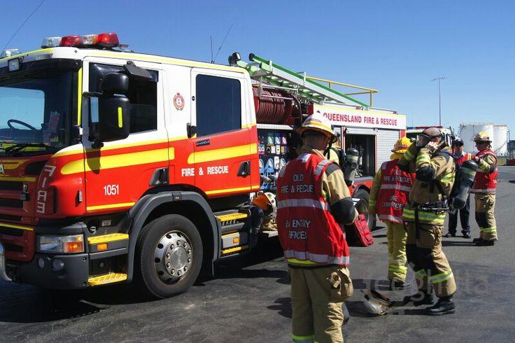 Qld. Fire & Rescue - Pumper 1051