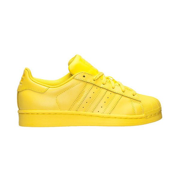 Boys' Grade School adidas Superstar x Pharrell Williams Supercolor Casual Shoes found on Polyvore featuring polyvore, shoes, adidas and sneakers