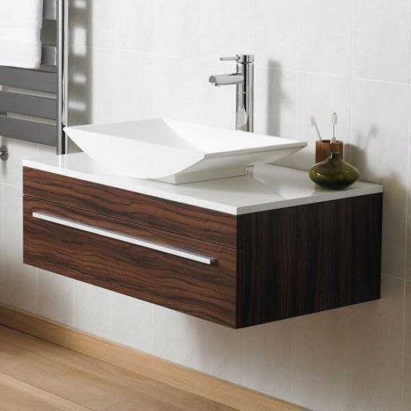 vanity unit with bowl sink. Warsaw Wall Mounted Vanity Unit  900mm Wide Walnut FinishVessel SinkBathroom 71 best Bathroom images on Pinterest Alcove Basins and Semi