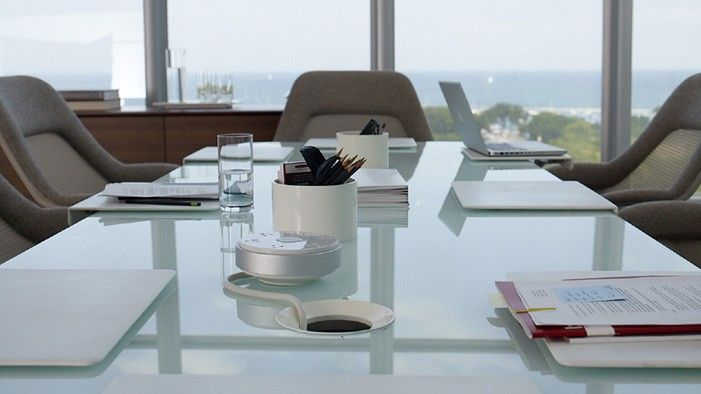 PowerPod Contemporary Desk Accessories | Coalesse