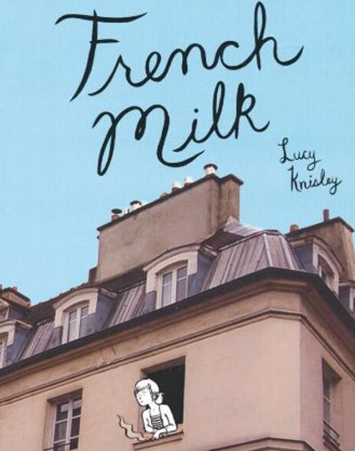Need to pick this up! A graphic novel about a trip to Paris!