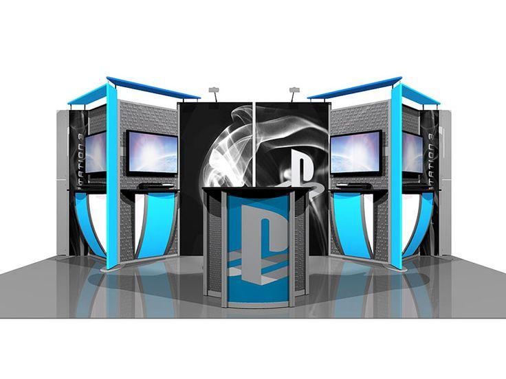 trade show and expo booth idea - Booth Design Ideas