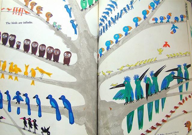 The birds are infinite Bruno Munari's Zoo. Written and illustrated by Bruno Munari. 1963.