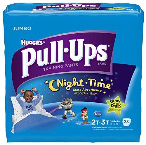 Huggies Pull-Ups Nighttime Training Pants - Boys - 2T-3T - 23 ct