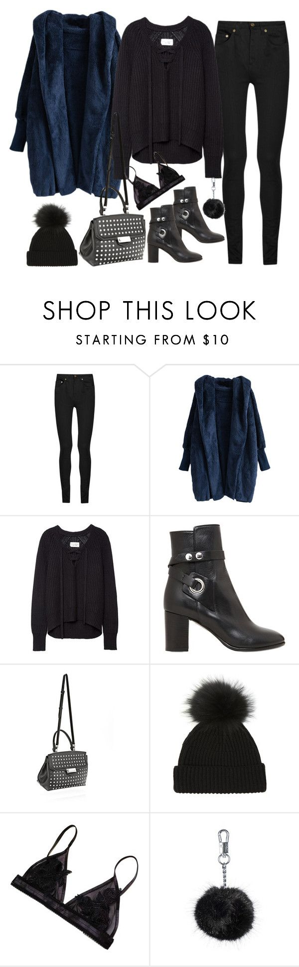 """""""Untitled#4015"""" by fashionnfacts ❤ liked on Polyvore featuring mode, Yves Saint Laurent, Isabel Marant, Alexander Wang, Topshop, women's clothing, women's fashion, women, female en woman"""