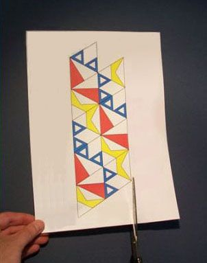 how to make paper folding toy