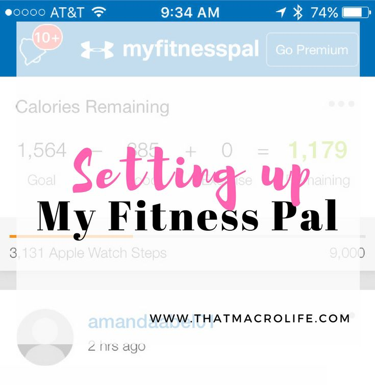 The app I use for tracking my food is My Fitness Pal. I know there are a lot of other options out there but this is the one I use and prefer. To be honest, I haven't tried the others because I am already familiar with My Fitness Pal and if it's not broken, why fix it? Keep reading because I am going to show you exactly how to set up My Fitness Pal (MFP) for trackingyour food and your macros. #1- Download the My Fitness Pal app. Once you've download the app, open it up and set up an…