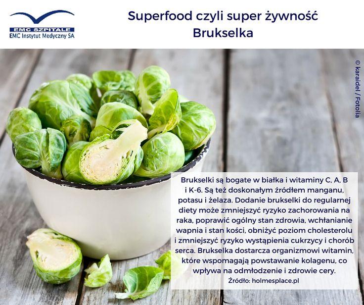 Dziś piątek - dzień #superfood Emotikon smile Polecamy Wam brukselkę, ta niepozorna #superzywnosc to skarbnica cudownych składników.