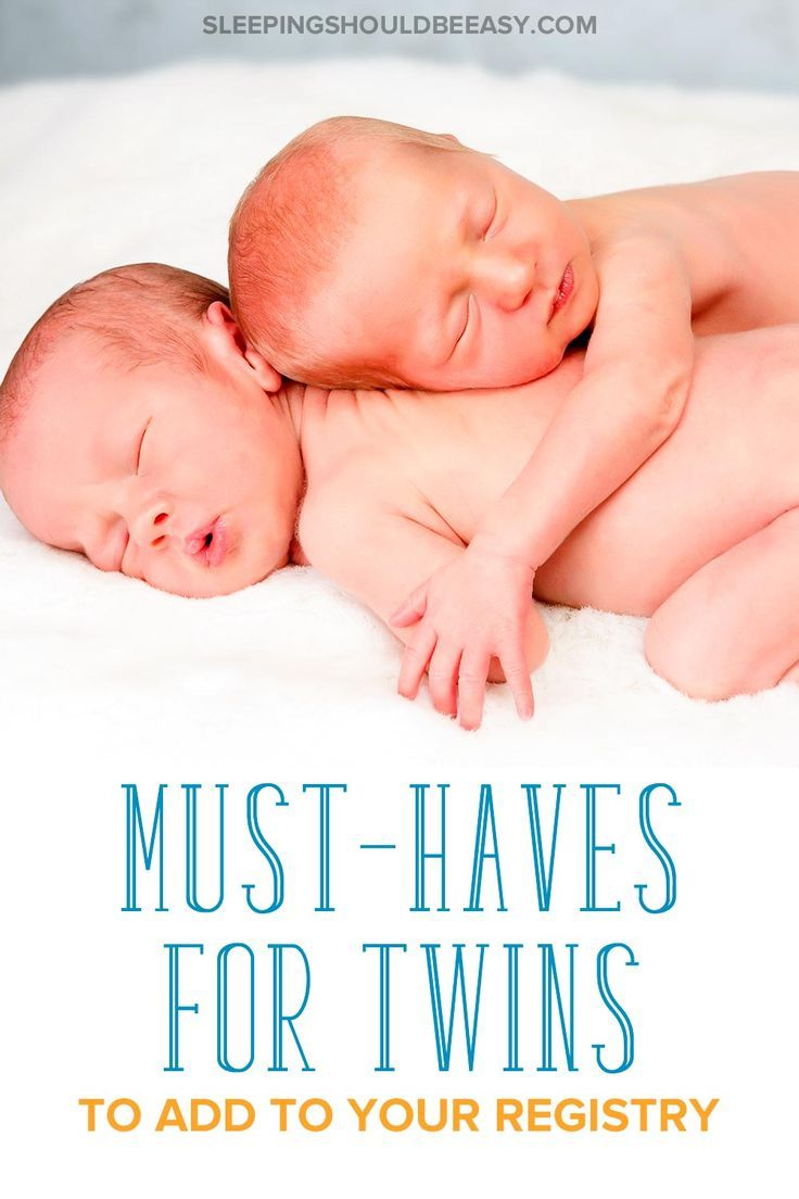 Twin Must Haves The Ultimate Guide For Newborn Twins Twin Baby