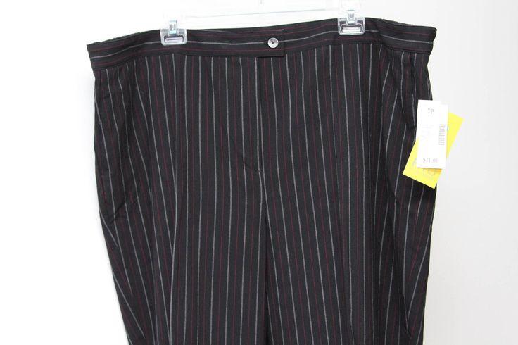 Plus Size Petite Dress Pants Catherines Right Fit Maggie Barnes 4 7 8 9 10 11 12