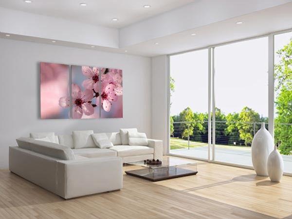 25 beste idee n over roze bloesem alleen op pinterest japanse bloemen bloemen en roze bloemen - Moderne kamer volwassen schilderij ...