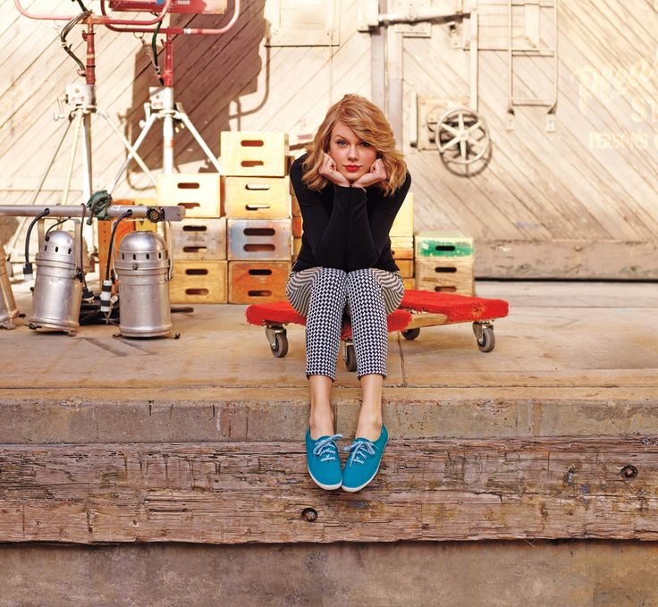 Taylor Swift - Keds Collection photoshoot by Dewey Nicks - Fall 2014