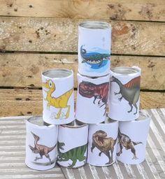 Dino-Party! Kindergeburtstag für einen vierjährigen Dinosaurier-Fan