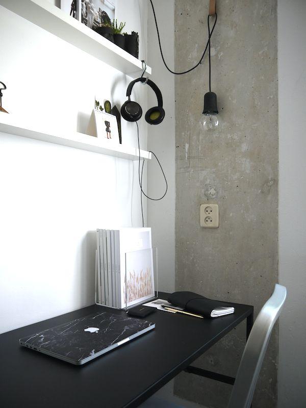 Lamp als voorbeeld boven welplek