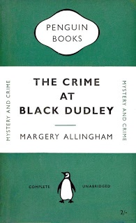 English detective fiction. Margery Allingham, just for example. Also Dorothy Sayers, Agatha Christie and Edmund Crispin.