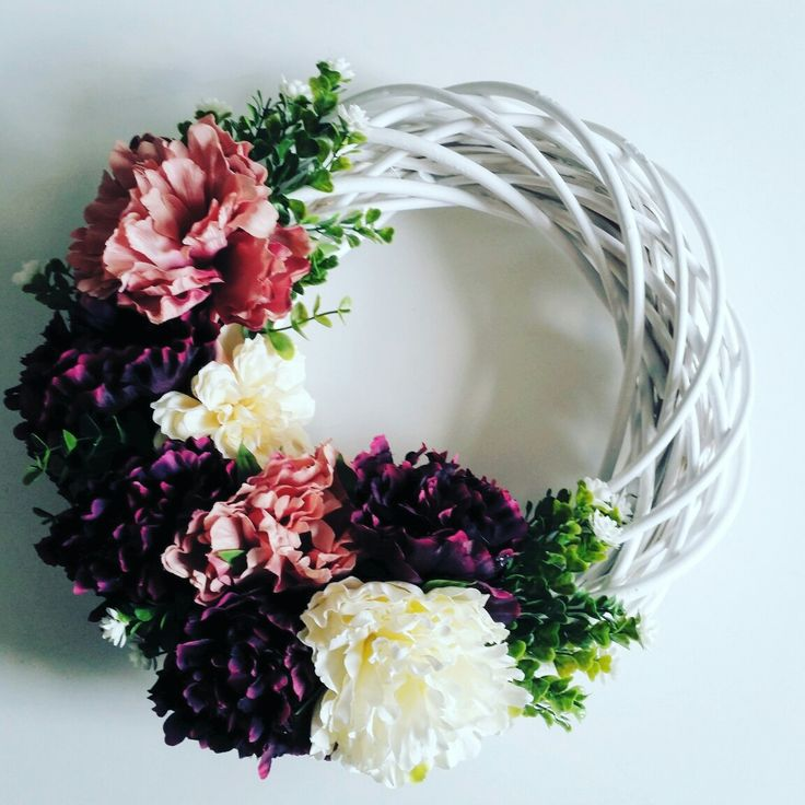 #flowers #cudne_wianki #wreaths  #handmade #homedecor