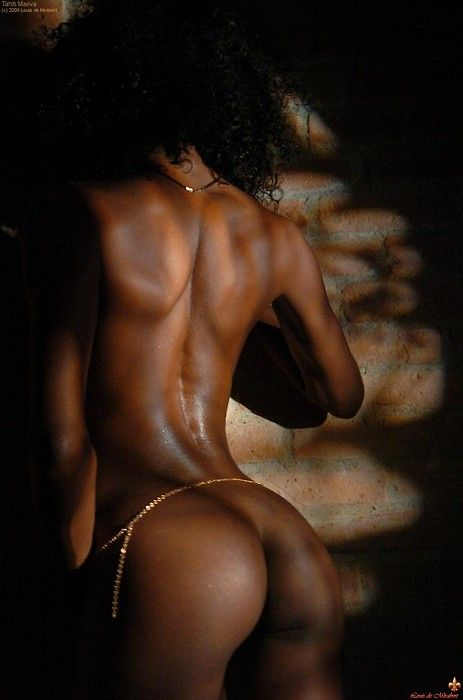 Beautiful perfect nude black men are not
