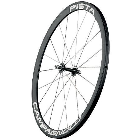 Campagnolo Pista Tubular Track Bike Front Wheel In track events, weight is of relative importance. The difference is made by the wheels ability to transmit the cyclists power completely. With such a theory in mind, our engineers created an extremel http://www.MightGet.com/january-2017-11/campagnolo-pista-tubular-track-bike-front-wheel.asp