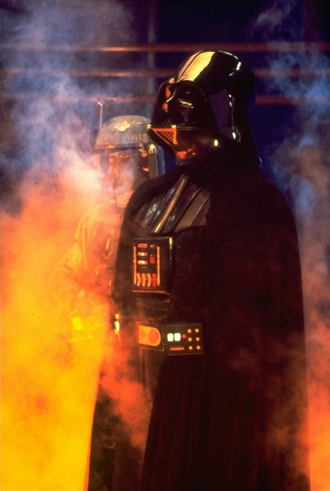 David Prowse (body double), and James Earl Jones as the voice of Darth Vader in Star Wars: Episode V--Return of the Jedi (1980)
