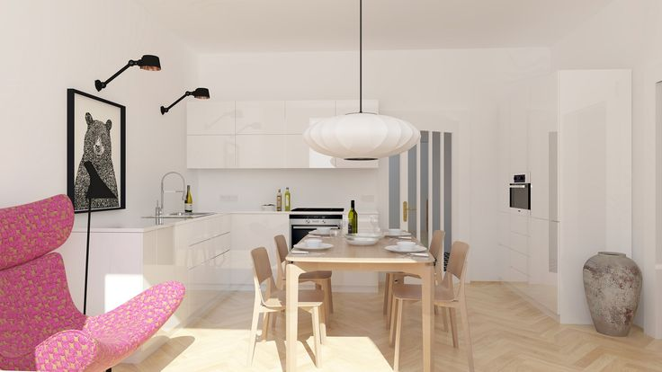 design kitchen and dining room | kuchyň a jídelna