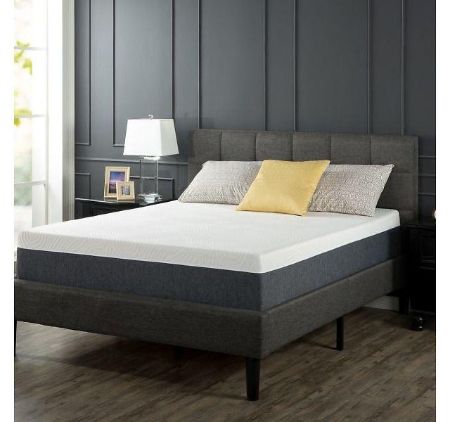 Memory Foam 12 Inch Comfort Mattress Only  179  179 10  zinus com. Best 25  Comfort mattress ideas on Pinterest   Casper mattress