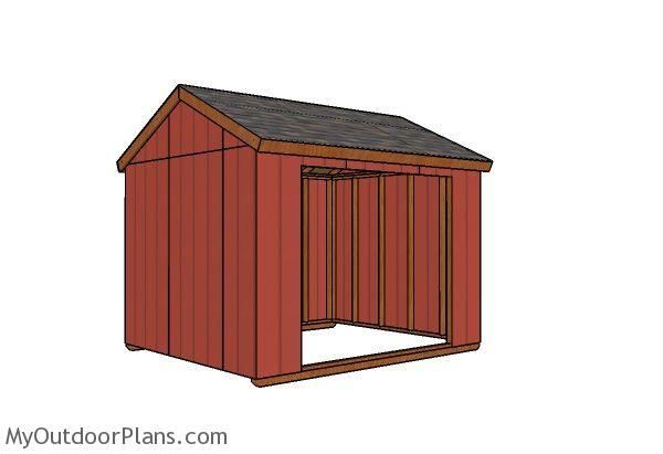 This Step By Step Diy Project Is About Field Shelter Plans I Have Designed This Basic Animal Shelter So You Create A S Shed Floor Plans Shed 10x12 Shed Plans