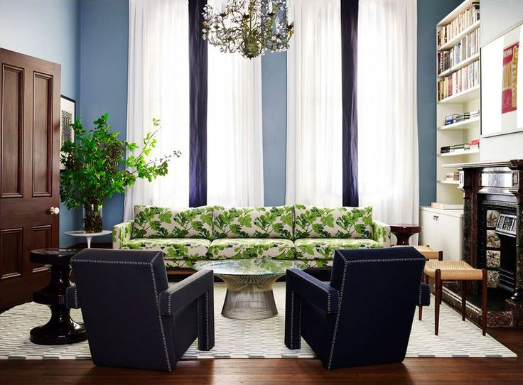 Fig Leaf Upholstered Couch Design By Arent And Pike