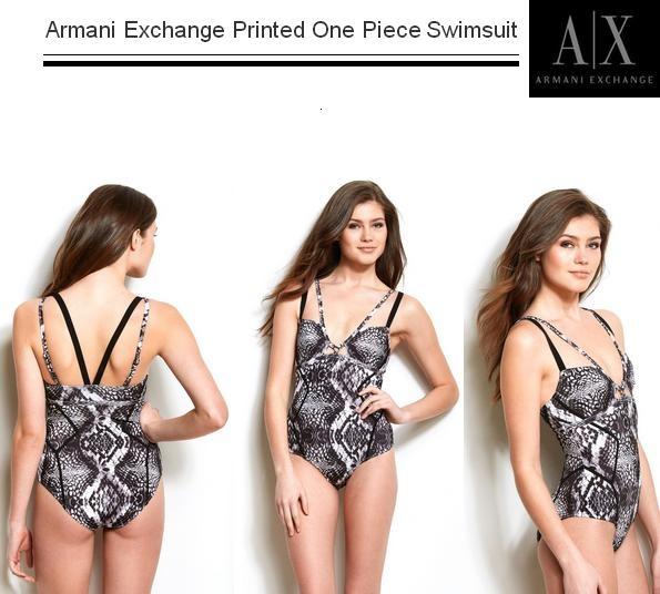 Armani Exchange Printed One Piece Swimsuit http://www.amazon.com/dp/B00BLJGE90/?tag=pinterest0e50-20
