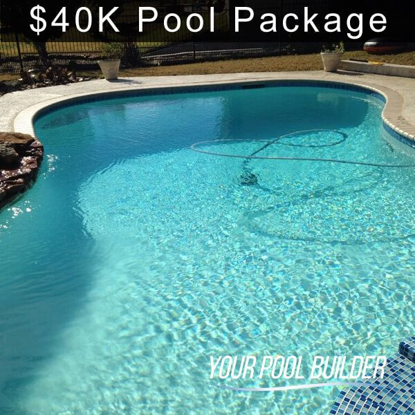Swimming Pool Design Construction Prices | $40k - $50k ...