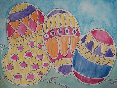 a faithful attempt: Glue Line Eggs