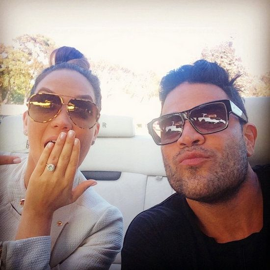 Mike Shouhed and Jessica Parido are engaged. Shahs of Sunset's Mike Shouhed proposed to Jessica Parido while skydiving on June 4. See the ring!