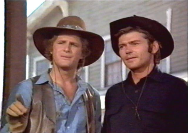 Alias Smith and Jones. Pete Duel and Ben Murphy as Kid Curry and Hannibal Hayes Brilliant 1970's television series
