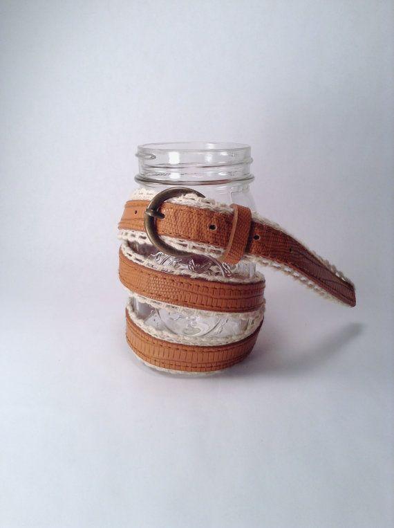 Tan White Belt  Southwestern  Light Brown Cream  by TreeCricket, $10.00 #southwestern #belt #etsy #brown #fashion