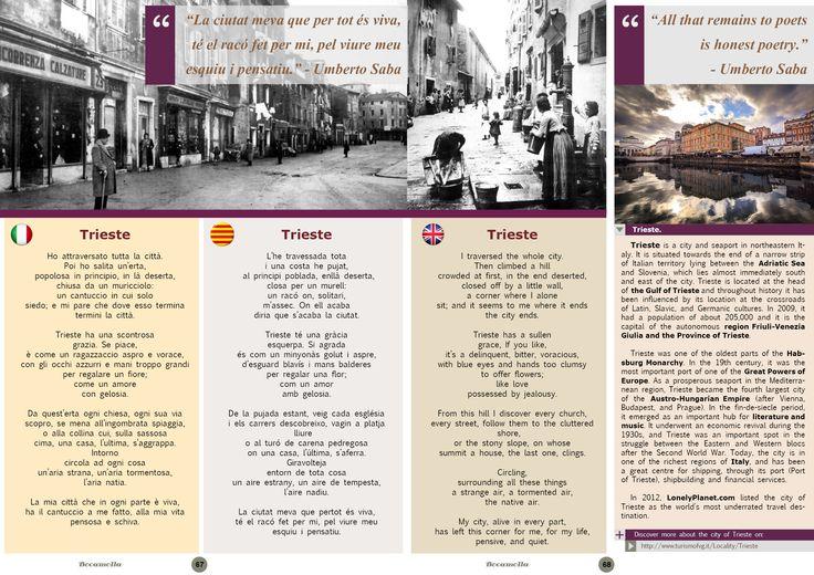 Umberto Saba, Italian Poetry. Page 2/5. Bocamolla Issue #5.