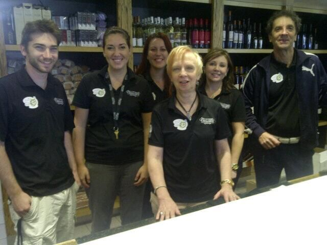 Our retail team ready to go for #grapeandwine2013