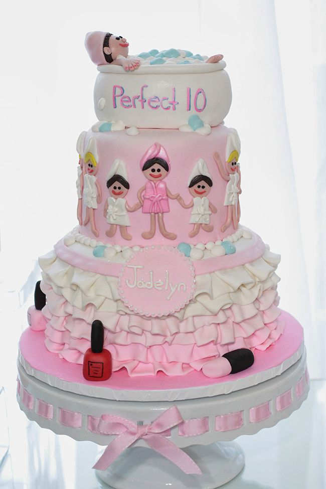 13 best Spa Party images on Pinterest Spa birthday parties